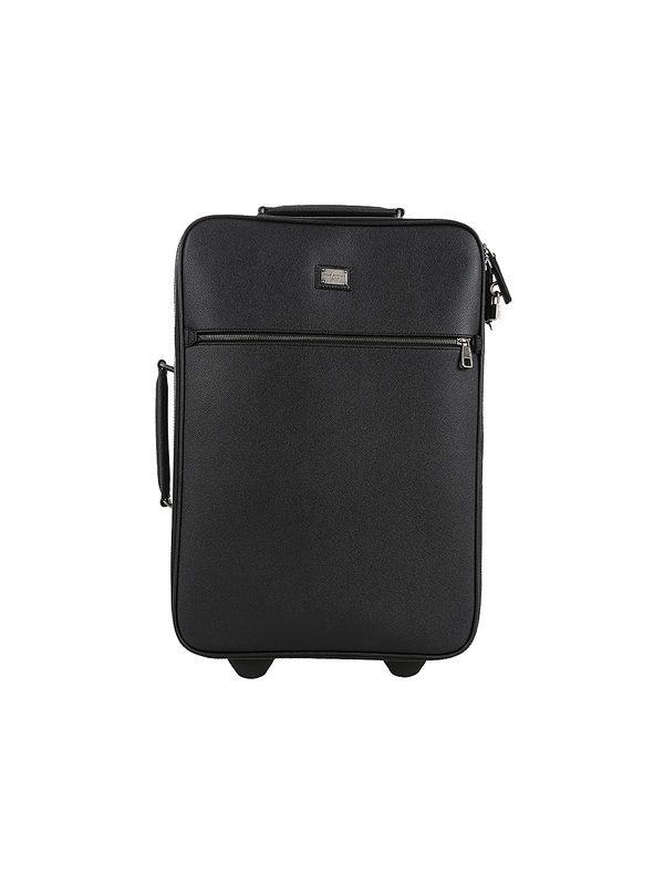 9f8d36a6f2 BAGS - DOLCE   GABBANA - Black leather Dauphine travel case