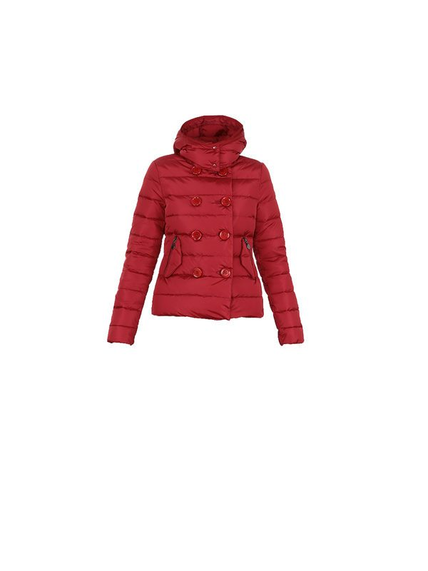 14367a2cca23 Down Jackets - MONCLER - Plane red nylon padded jacket