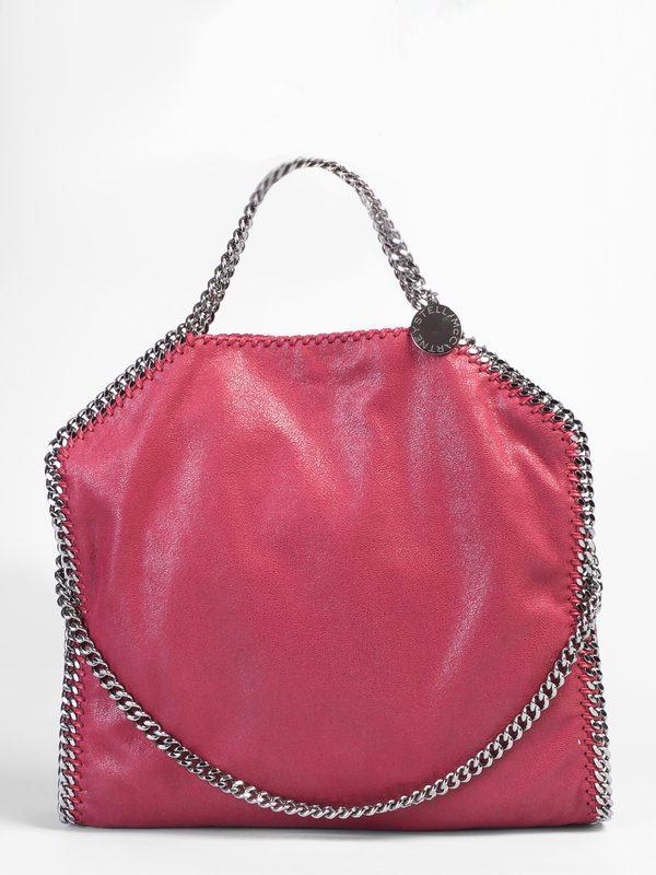 Shoulder bags - STELLA MCCARTNEY - Falabella Triple Chain faux ... e6fa9ef921256