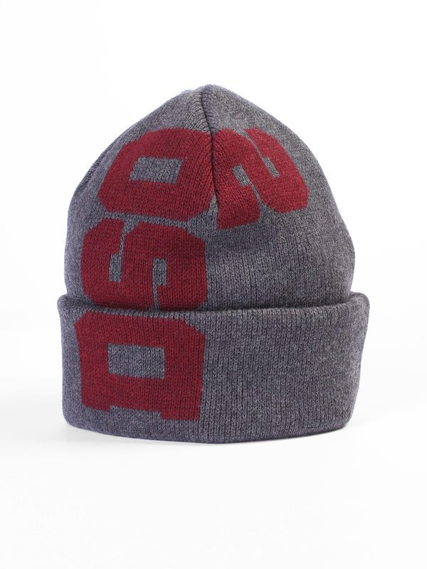 4e28c0014e0 Hats - DSQUARED2 - Logo printed wool beanie