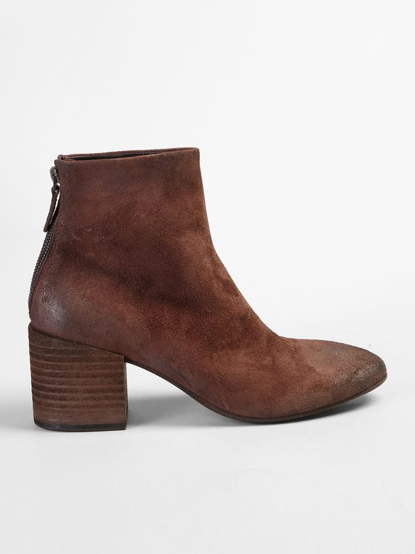 fb793936e3 Boots - MARSELL - Distressed effect leather ankle boots   DELL'OGLIO